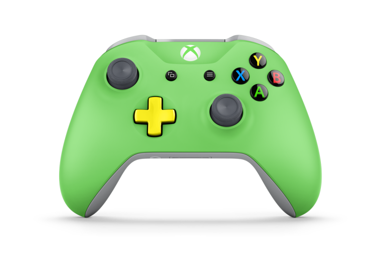 Create your own sickeningly coloured controller
