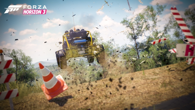 Activities in Horizon 3 tend to be unsafe, and encouraged.