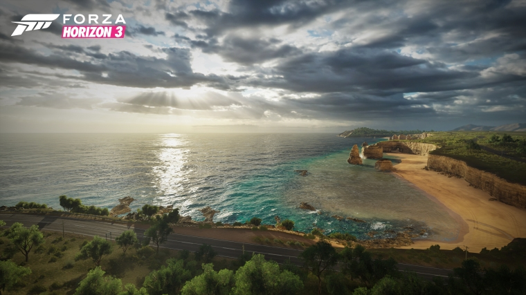 Forza Horizon 3 Coast Landscape, if that wasn't obvious enough.