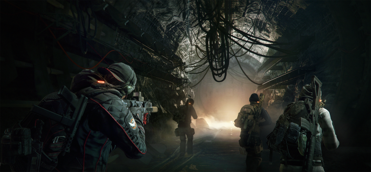 Say what you like about the Division, but it's graphical finesse is in its dark and atmospheric scenes.