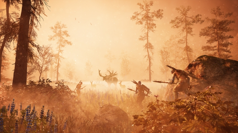 Think far Cry: Primal, but with aliens and yet more stunning graphics. Potentially. Hopefully.
