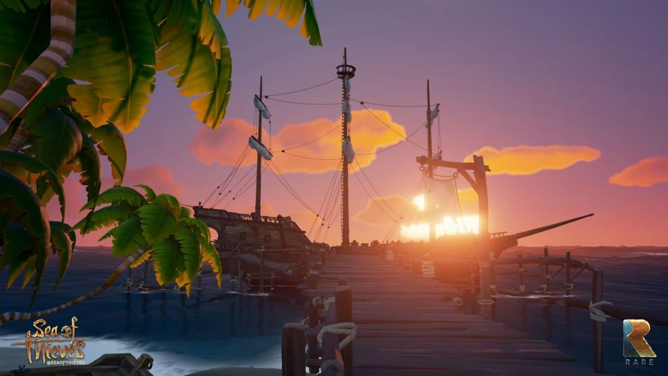 SOT_Gamescom_2016_Screenshot_Ship-Sunset